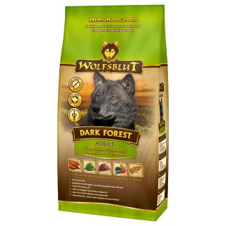 Wolfsblut Dark Forest  ADULT -  WILD