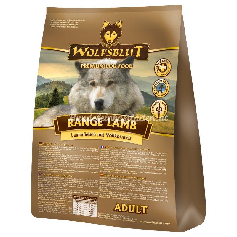 wolfsblut range lamb lamm hundefeinkostladen dein spezialist f r 13 99. Black Bedroom Furniture Sets. Home Design Ideas