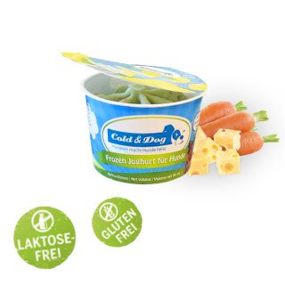 Cold & Dog Frozen Joghurt Käse, Karotten & Spirulina 90ml